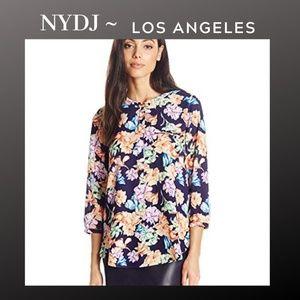 NYDJ | Harlequin Floral Career Wear Blouse